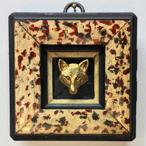 Painted Frame with Fox (3.25