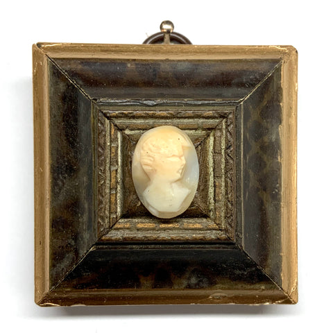 Painted Frame with Cameo (2.25
