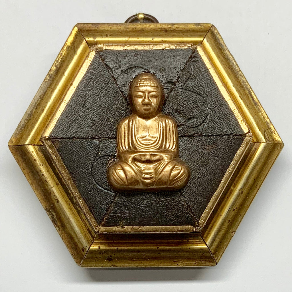 Gilt Frame with Buddha (4