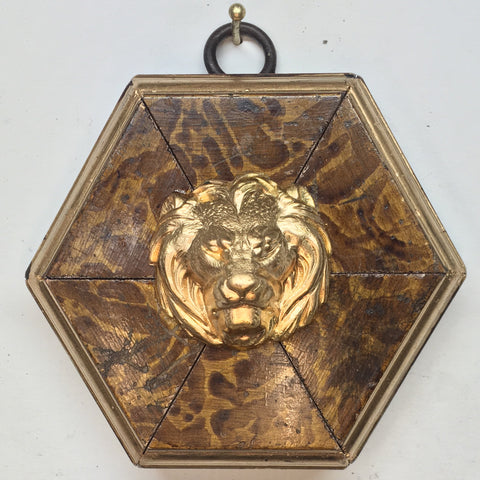 Burled Frame with Lion (3.5