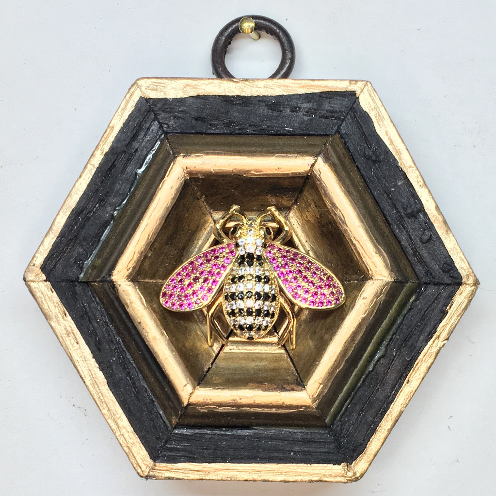 Bourbon Barrel Frame with Sparkle Bee (3