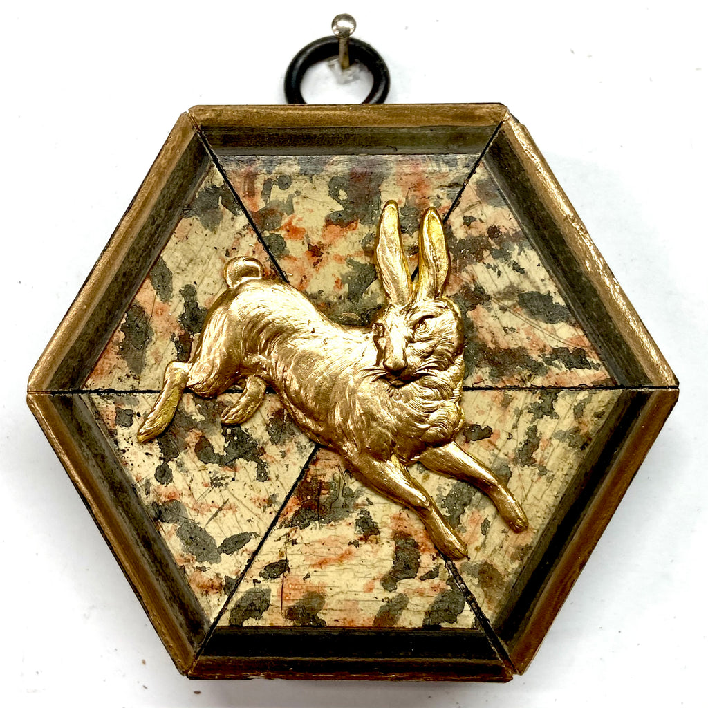 Marbled Frame with Hare (3.5