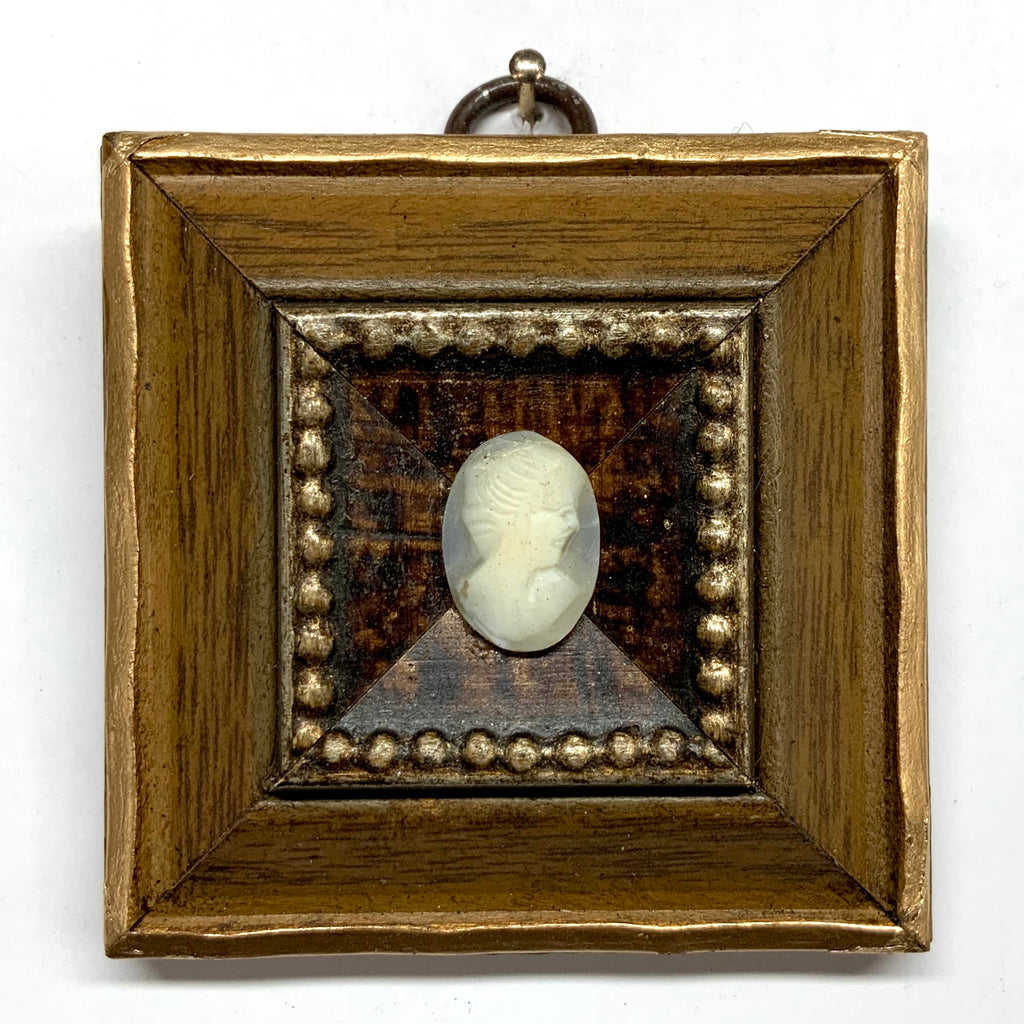 Wooden Frame with Cameo (2.75