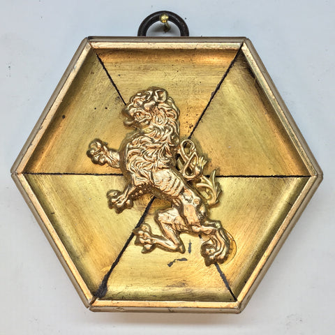 Gilt Frame with Lion (3.25