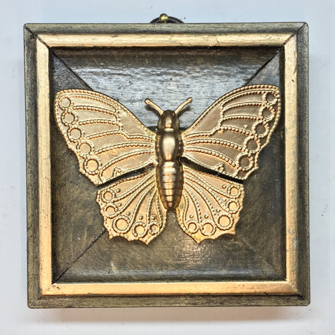 Gilt Frame with Butterfly (3