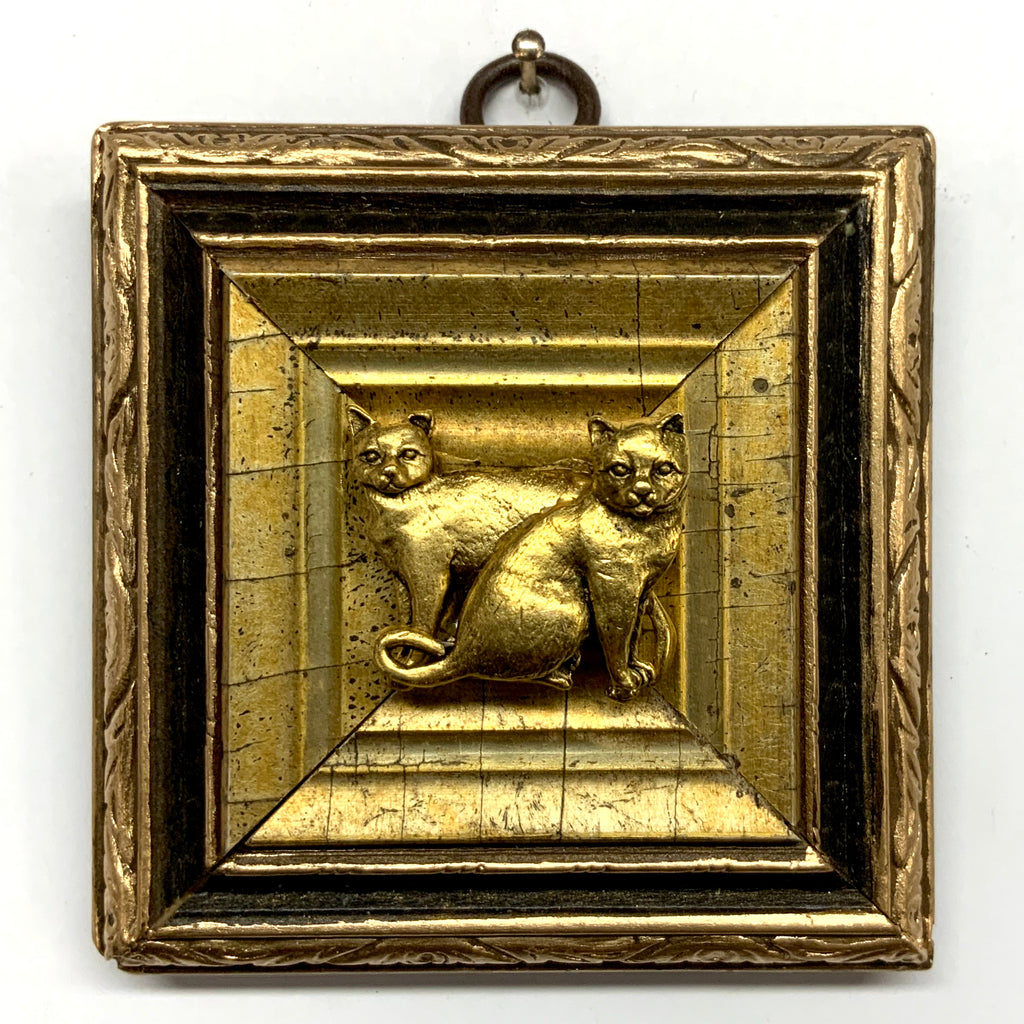 Gilt Frame with Cats (3.25