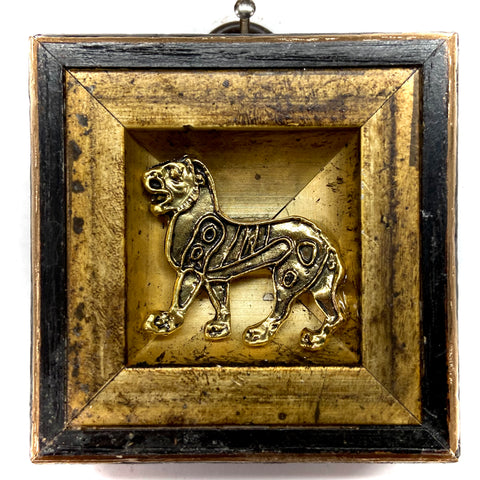 Gilt Frame with Lion (2.25