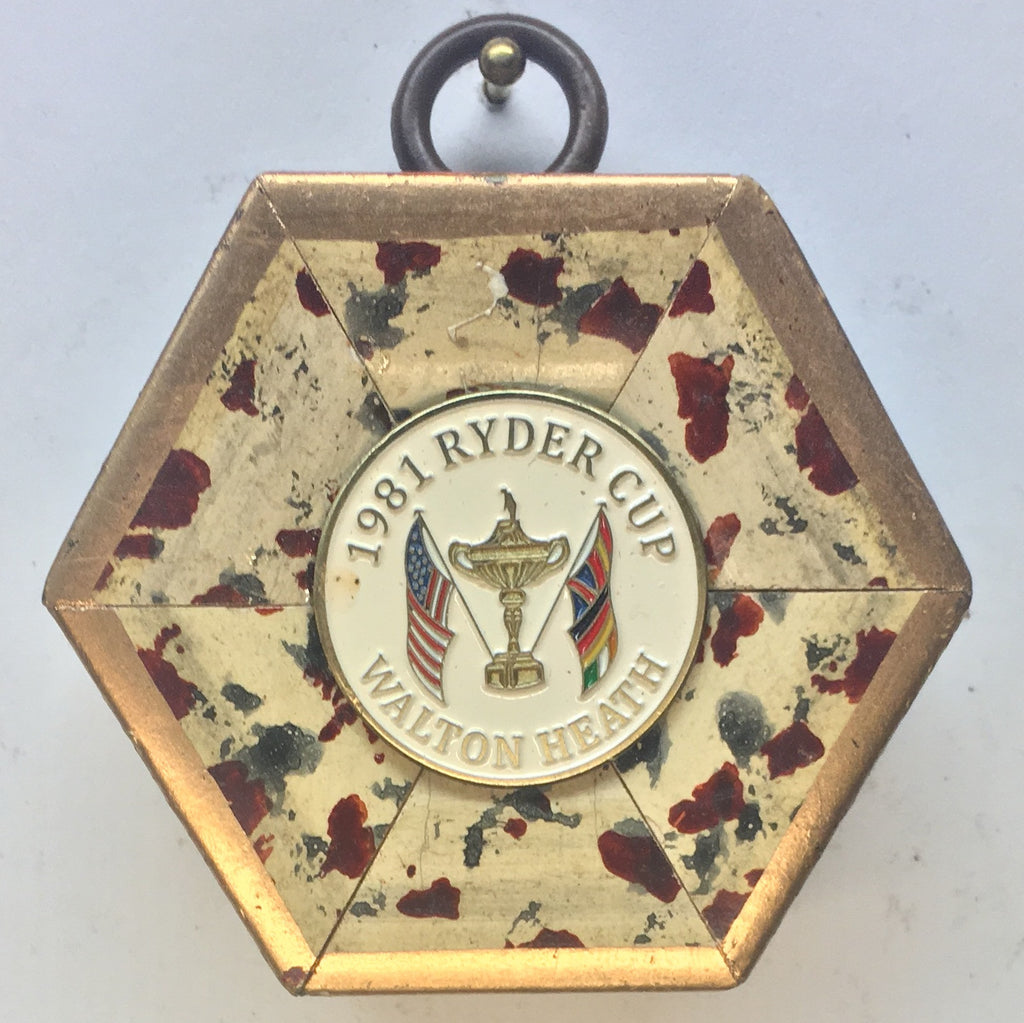 Speckled Frame with Ryder Cup Ball Marker (2.25