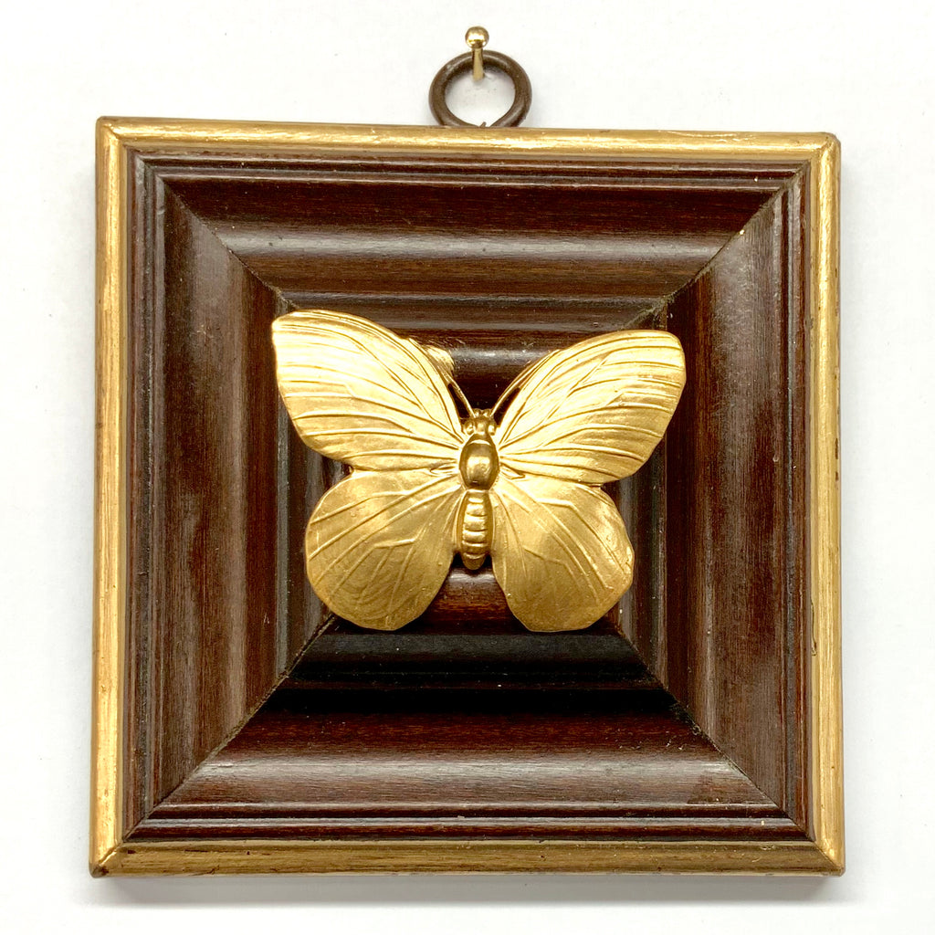 Wooden Frame with Butterfly (4