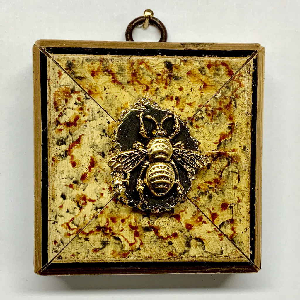 Marbled Frame with Grande Bee on Stone (3