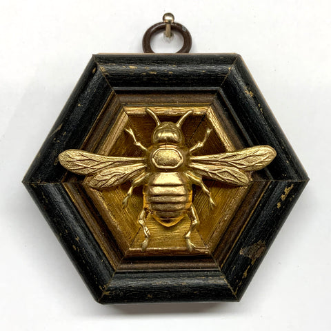 Painted Frame with Italian Bee (3.25