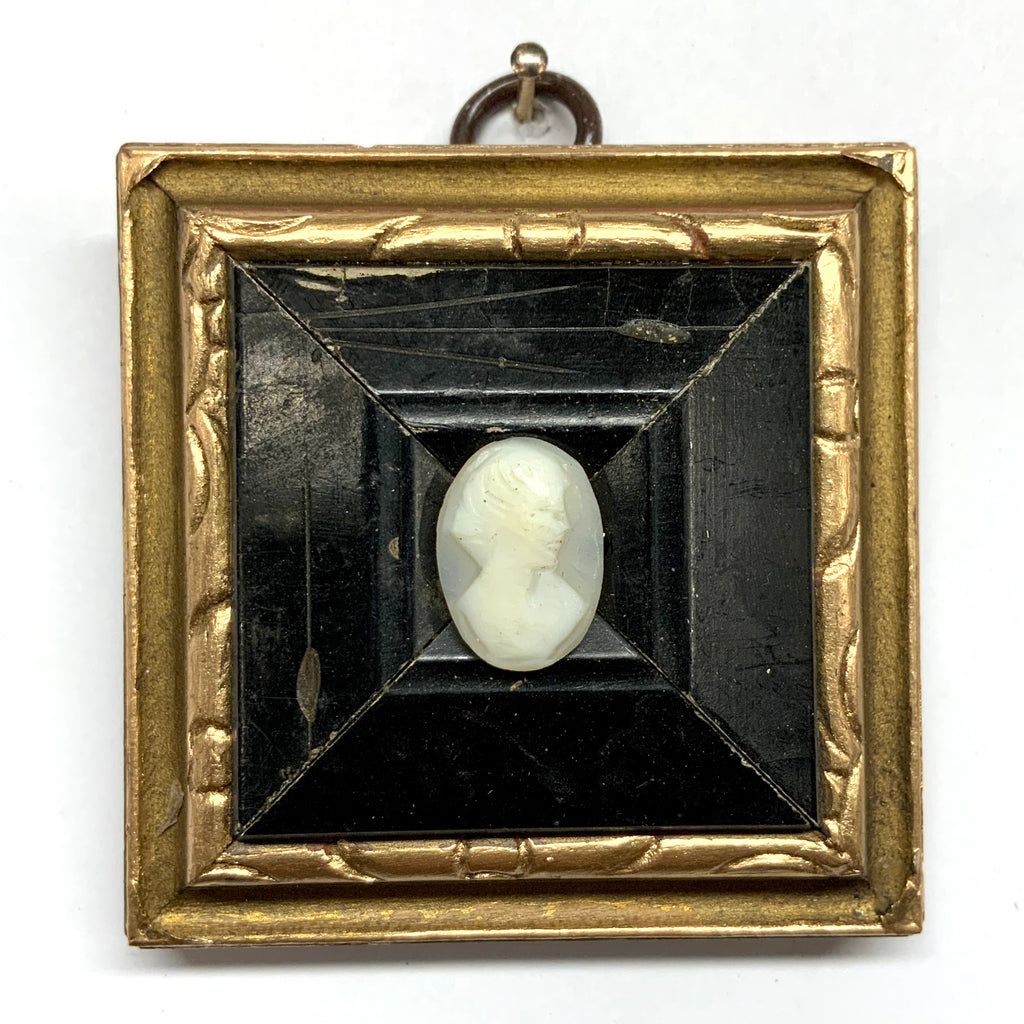 Gilt Frame with Cameo (2.75