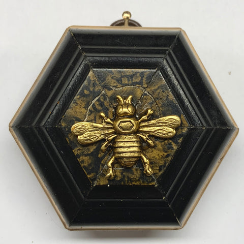 Lacquered Frame with Italian Bee (3