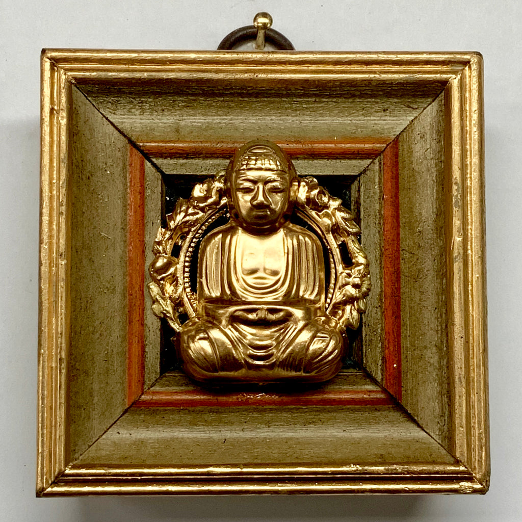 Painted Frame with Buddha (3