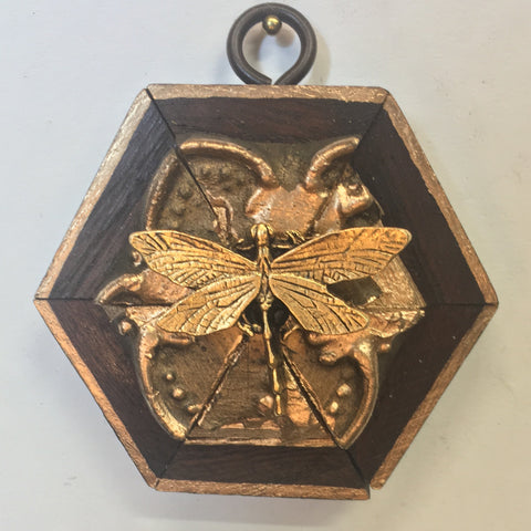 Gilt Frame with Dragonfly (3