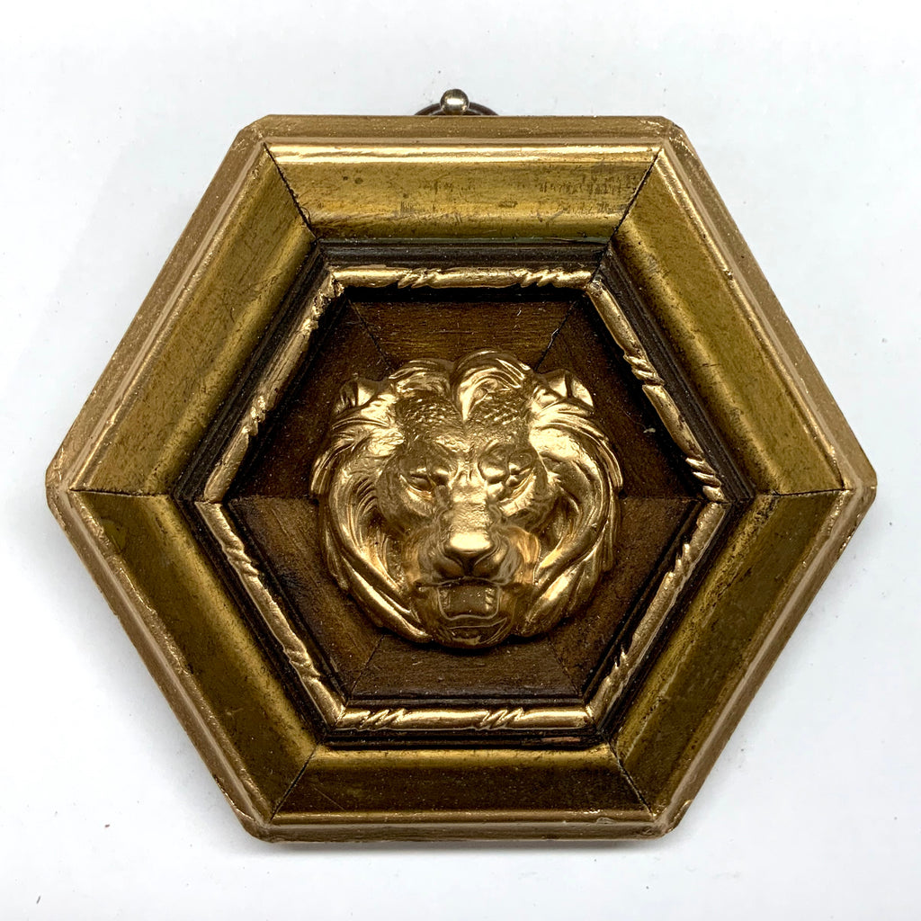 Gilt Frame with Lion (3.75