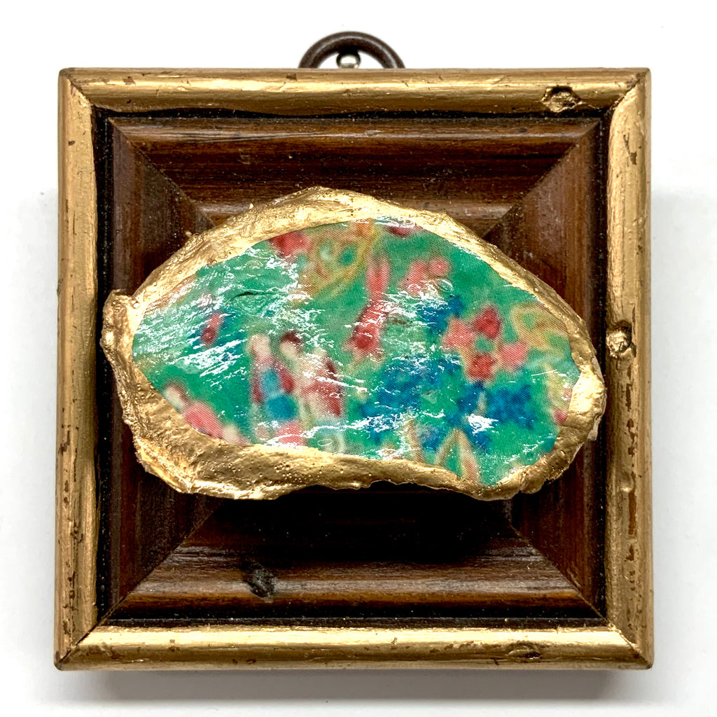 Wooden Frame with Garden Oyster Shell (3