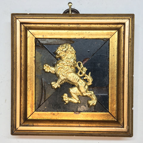 Coromandel Frame with English Lion (3.75