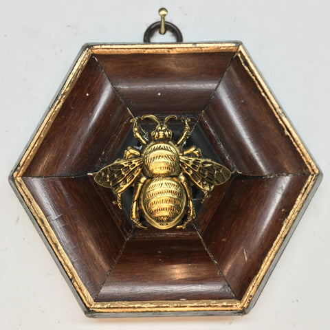 Wooden Frame with Grande Bee (4.5