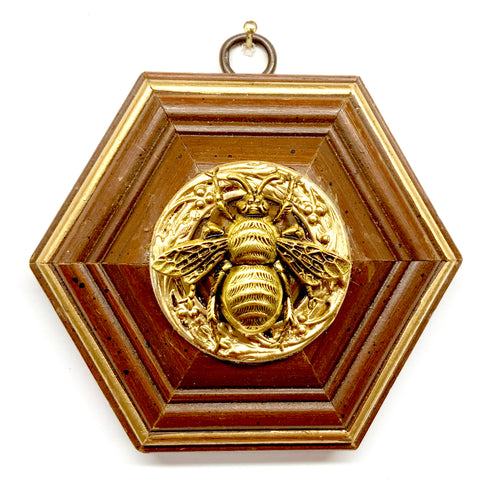 Wooden Frame with Grande Bee (4