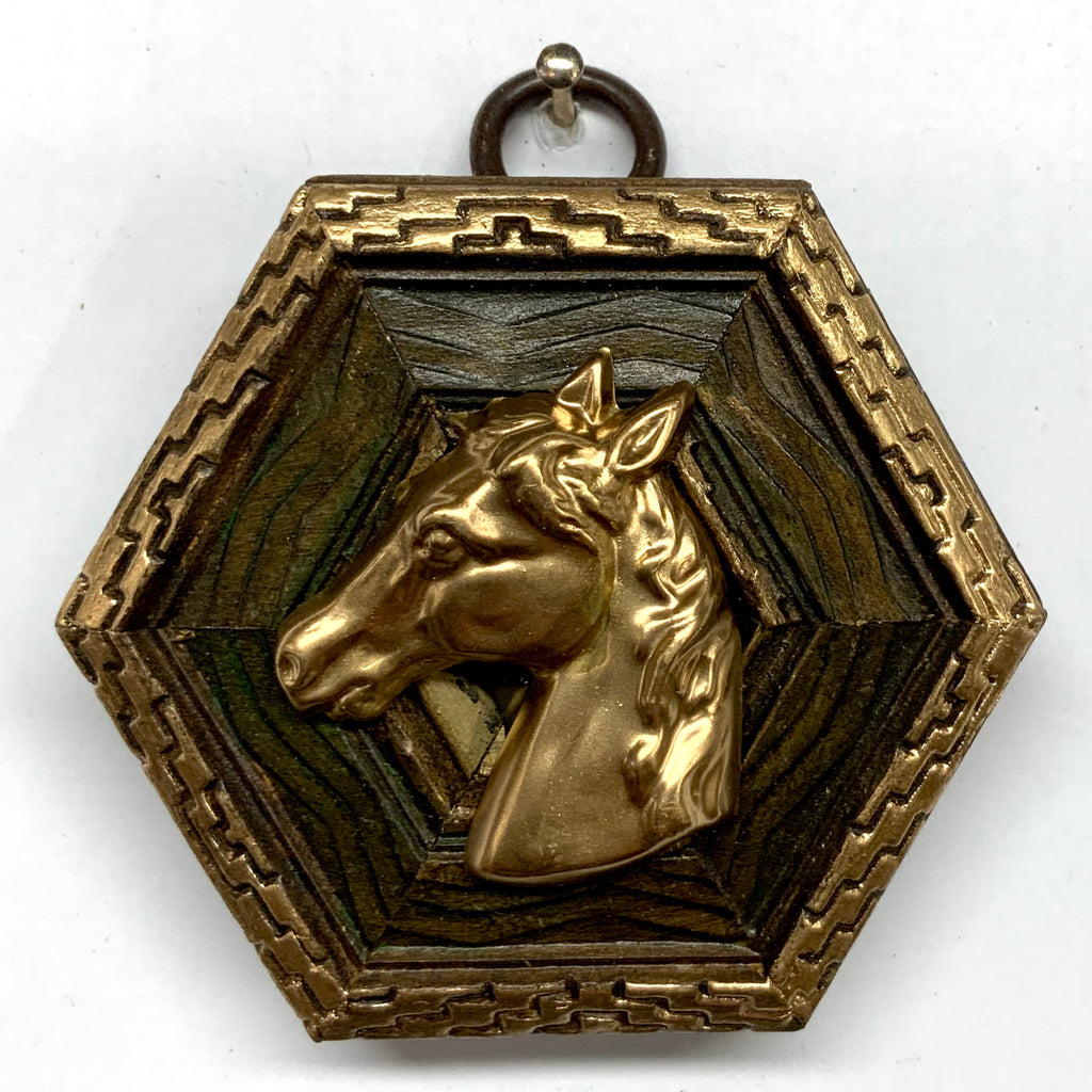 Painted Frame with Horse (2.75