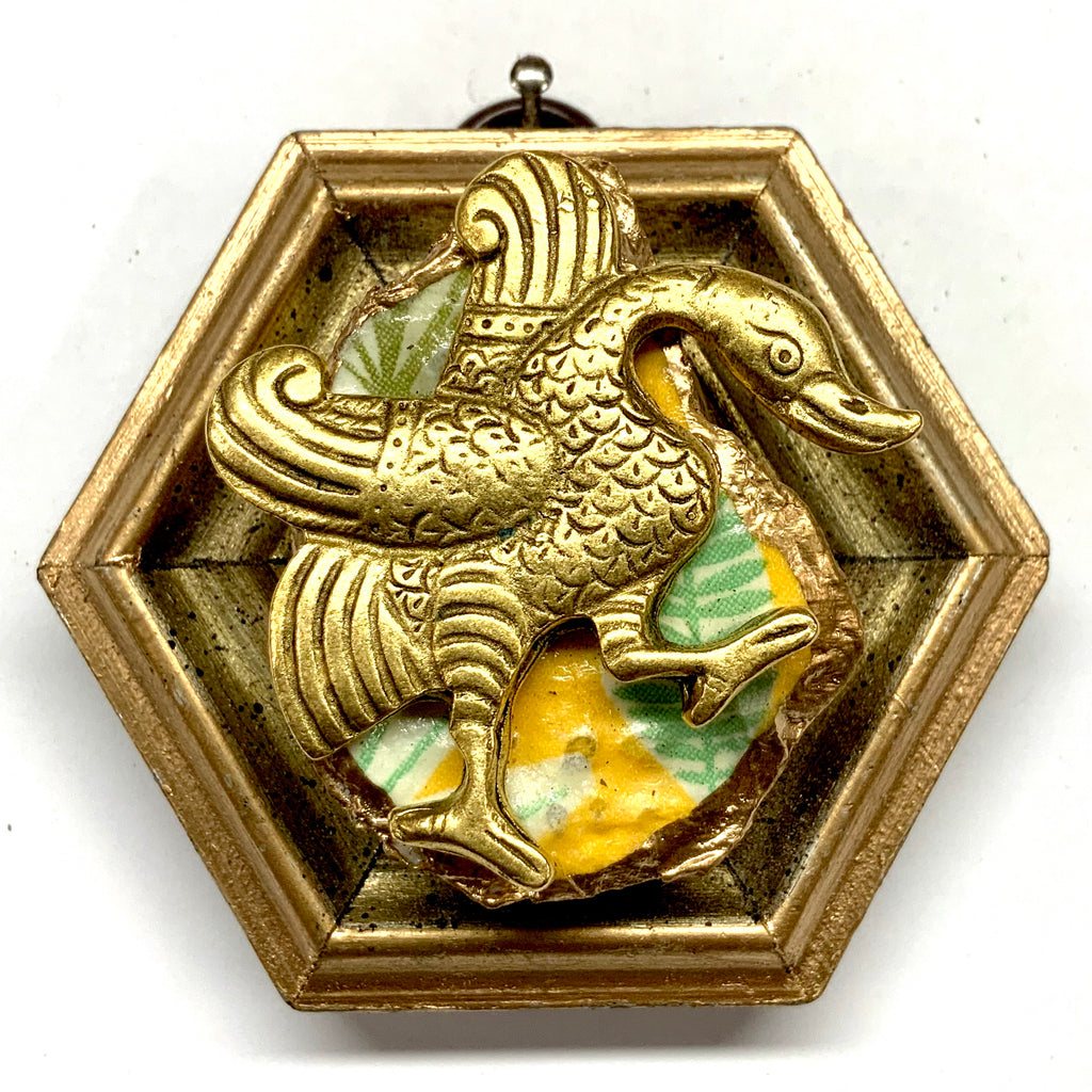 Gilt Frame with Goose on Oyster Shell (3