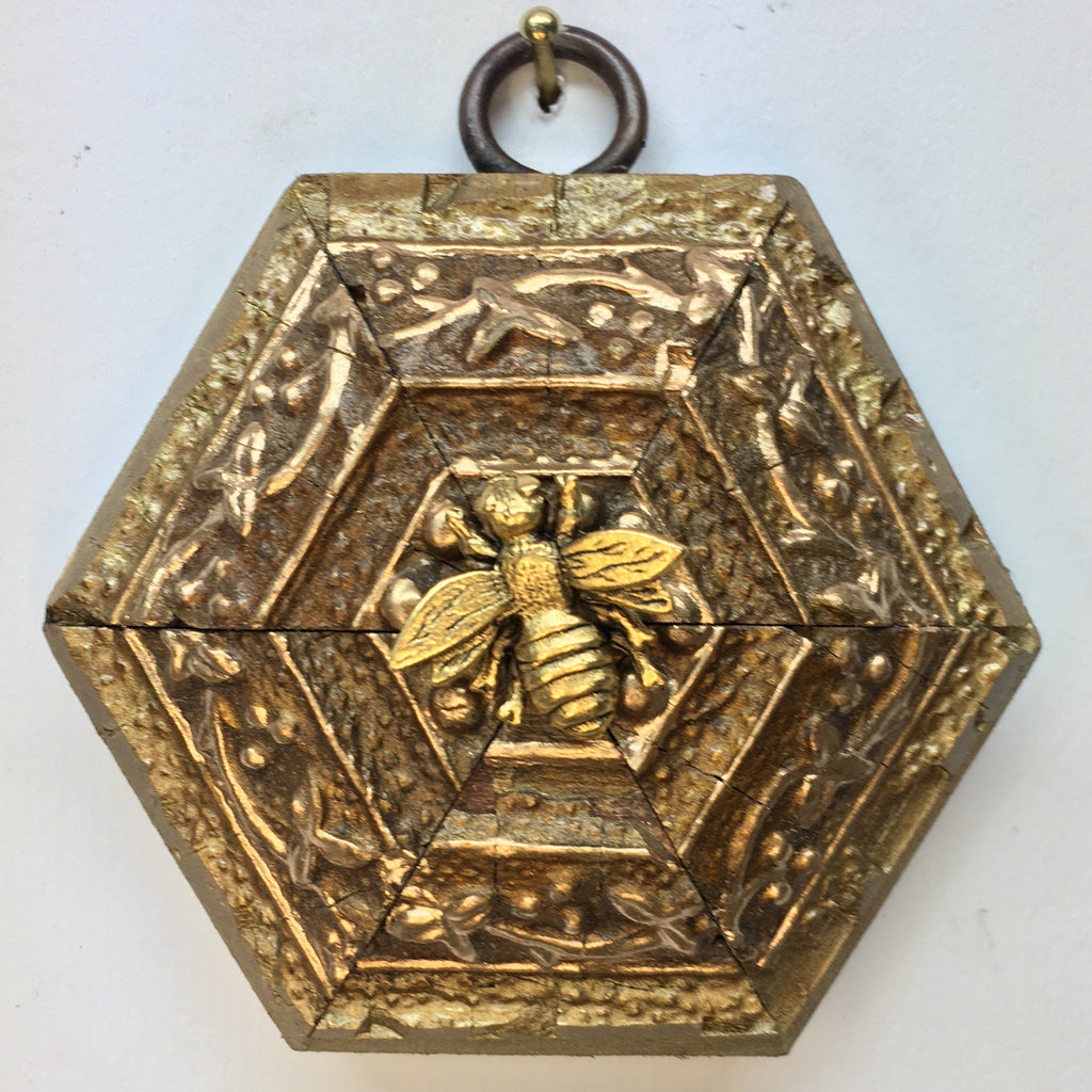 Interesting Gilt Frame with Napoleonic Bee (3