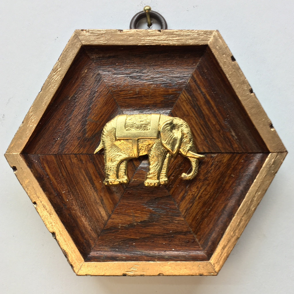 Wooden Frame with Elephant (4