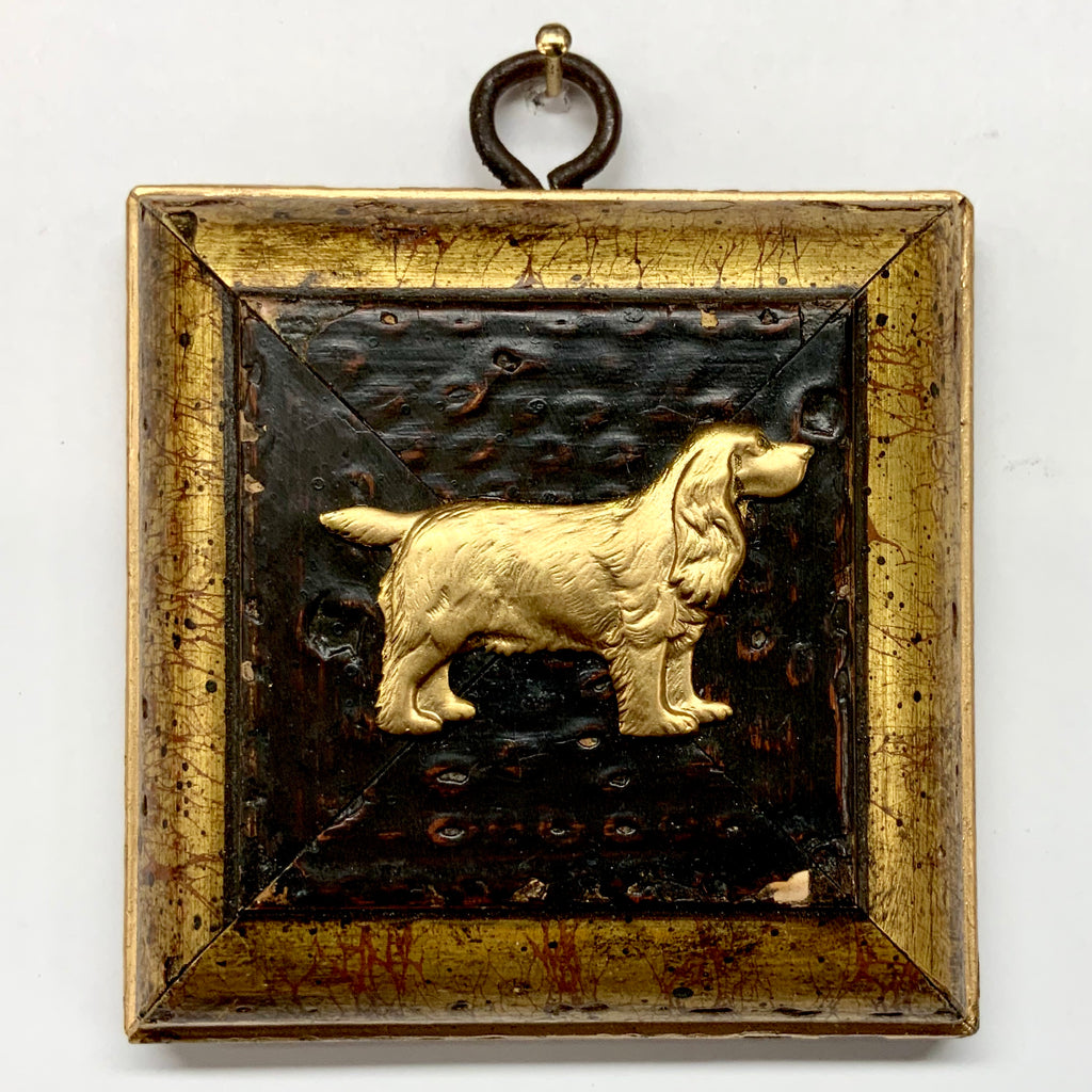 Gilt Frame with Spaniel (3.25