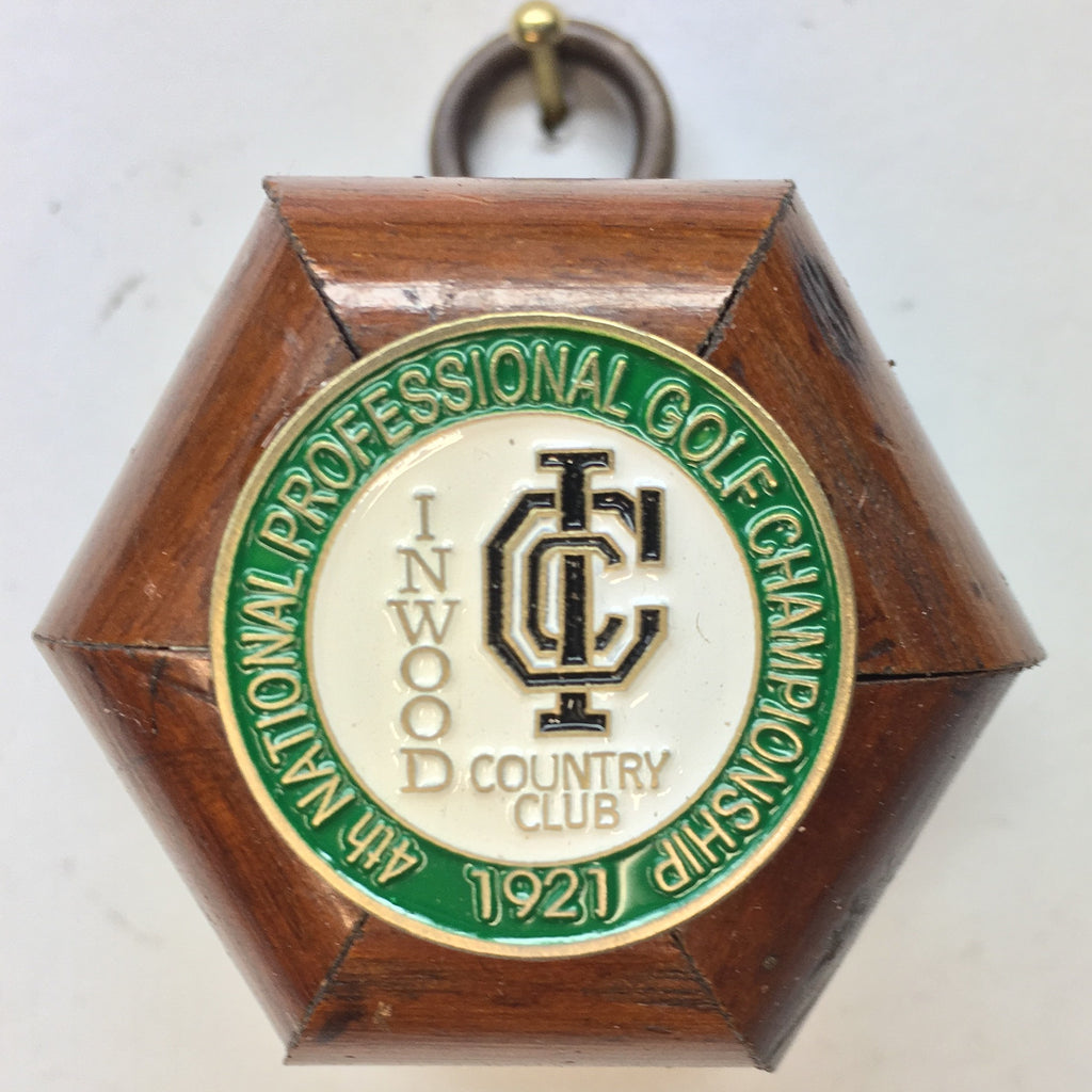 Wooden Frame with 1921 Ball Marker (2