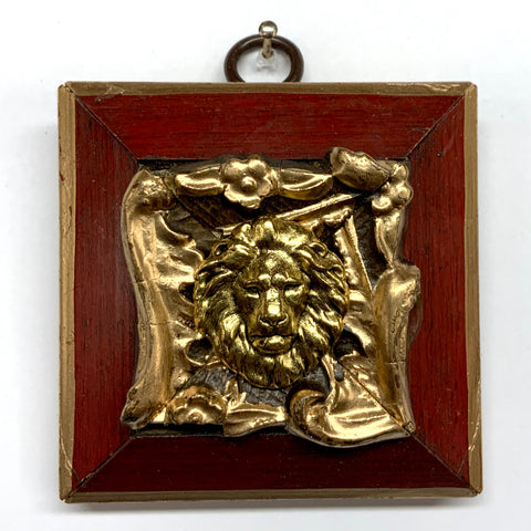 Lacquered Frame with Lion (2.75
