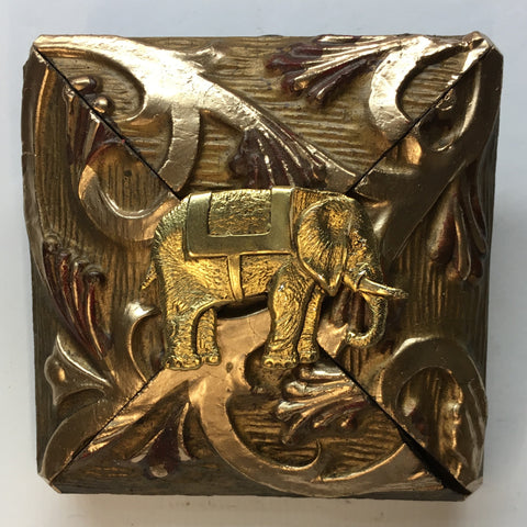 Gilt Frame with Elephant (3