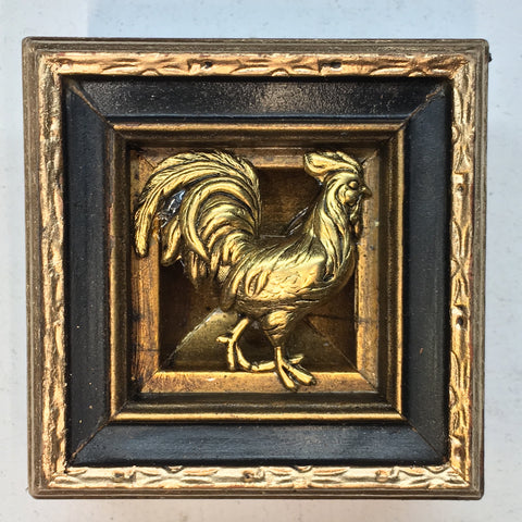 Gilt Frame with Rooster (2.25