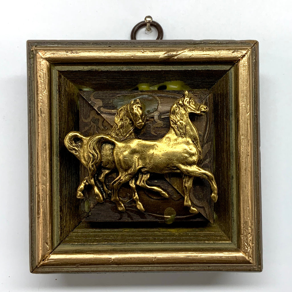 Painted Frame with Horses (3.5