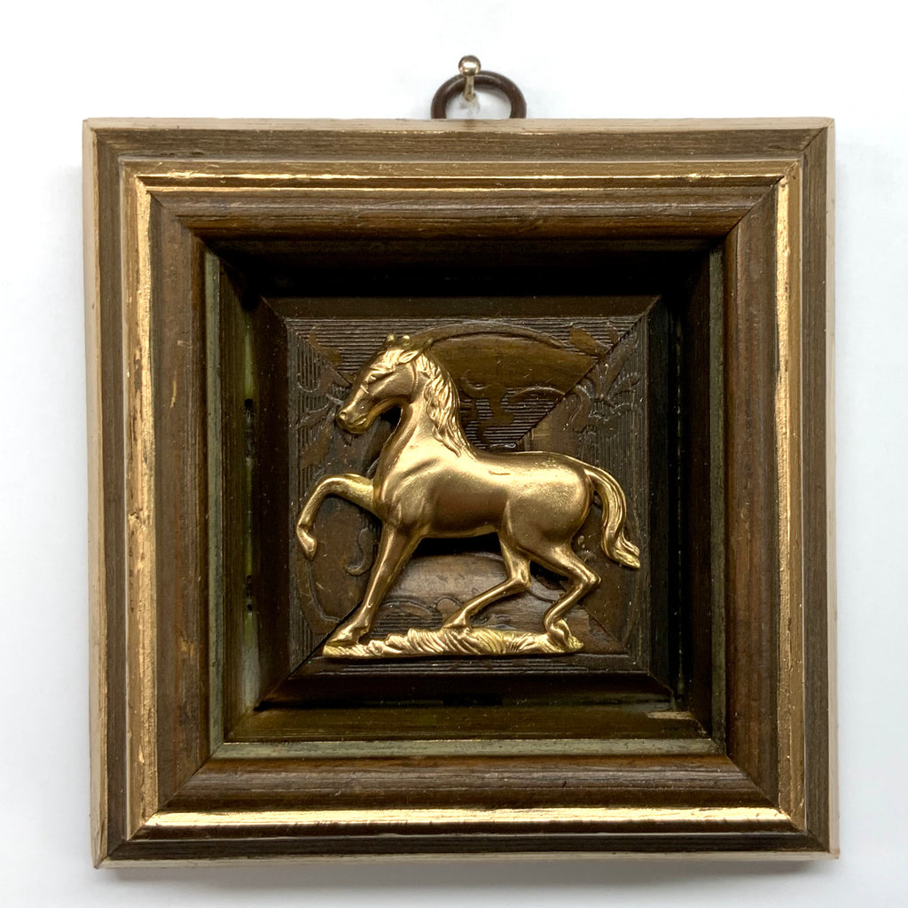 Wooden Frame with Horse (4.25