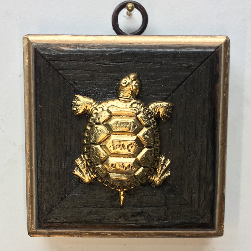 Bourbon Barrel Frame with Turtle (3.5