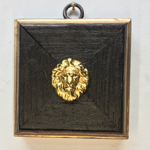 Bourbon Barrel Frame with Lion (3.25