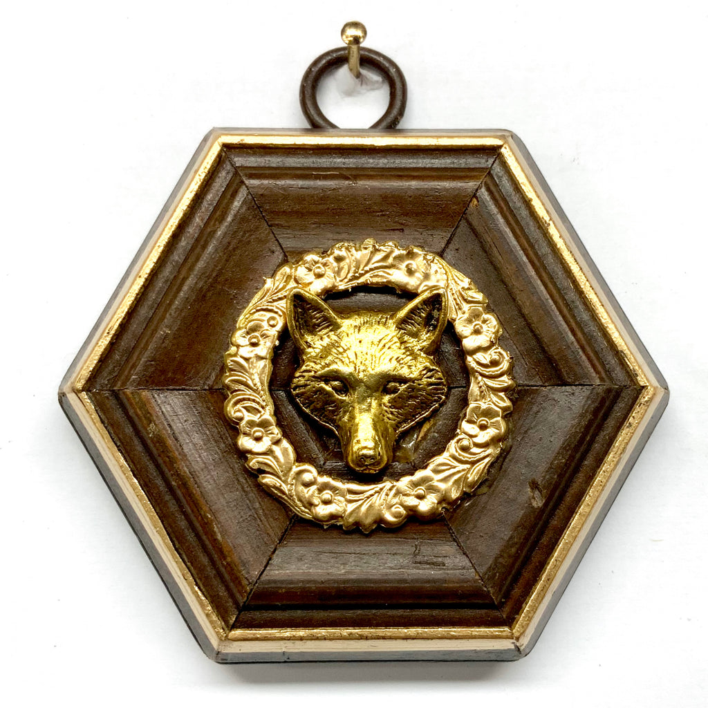Wooden Frame with Fox (3.25