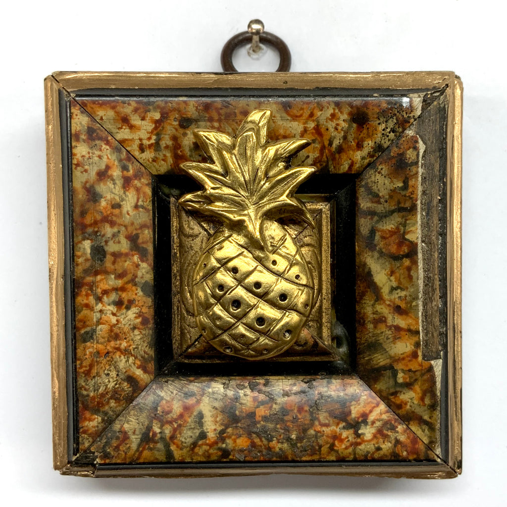 Marbled Frame with Pineapple (3