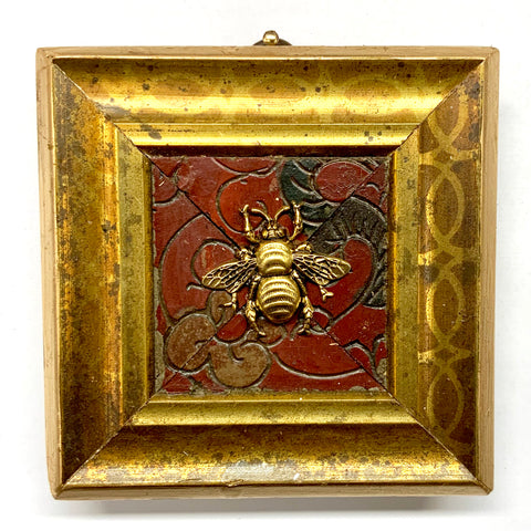 Gilt Frame with Grande Bee on Coromandel (3.75