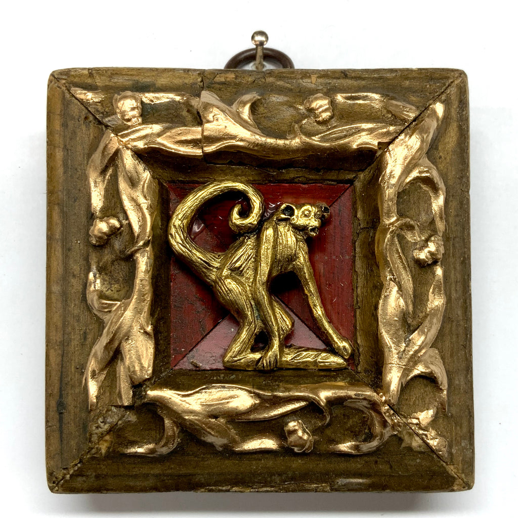 Gilt Frame with Monkey (3