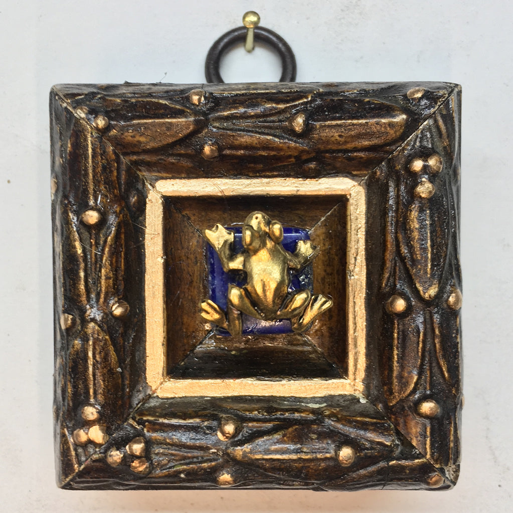 Gilt Frame with Frog (2