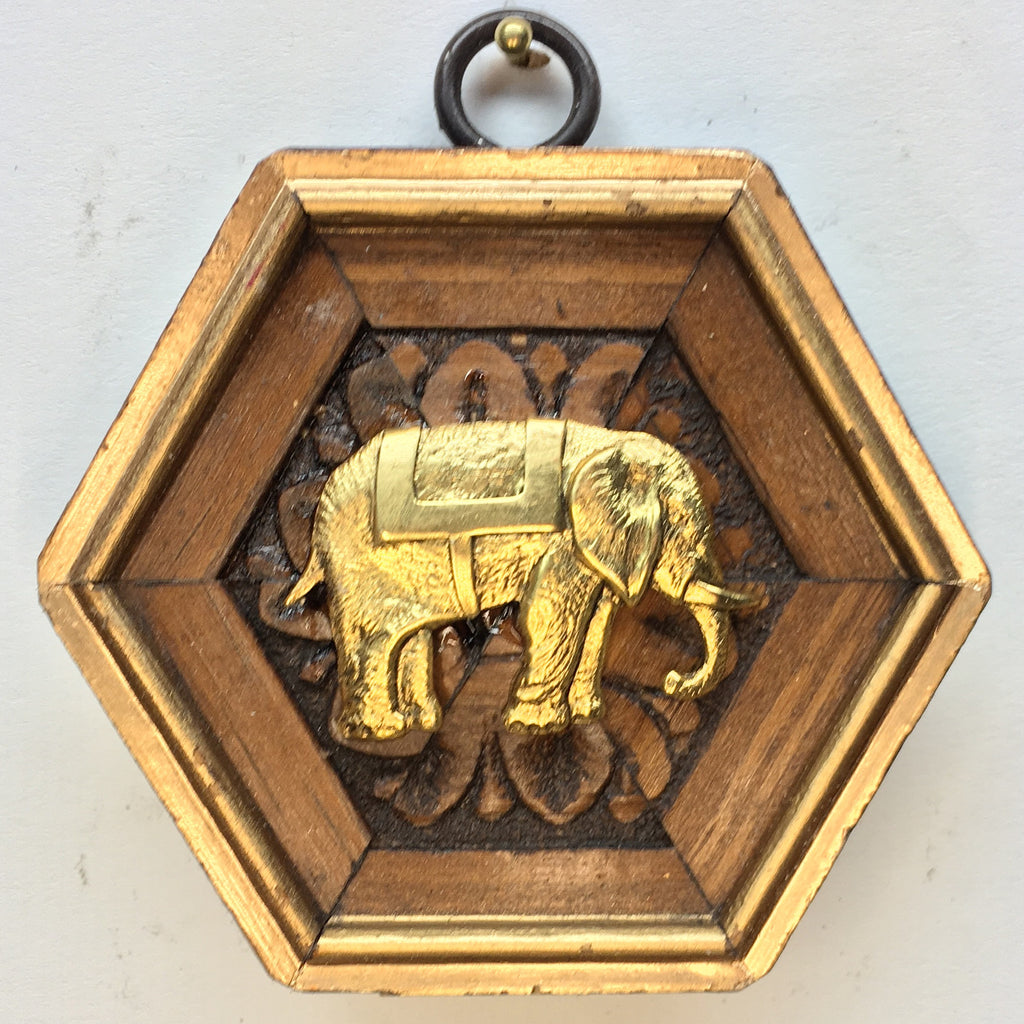Wooden Frame with Elephant (3