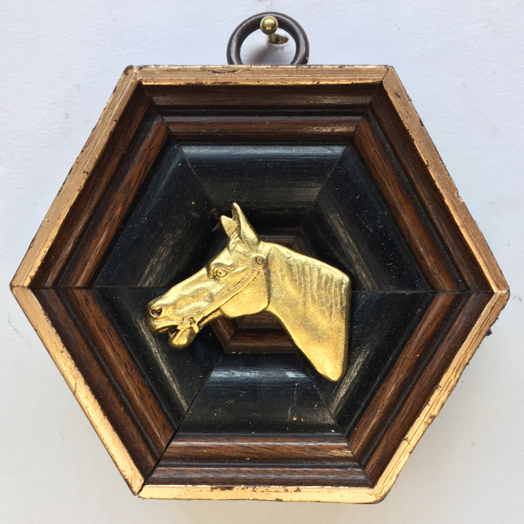 Wooden Frame with Horse (3.25