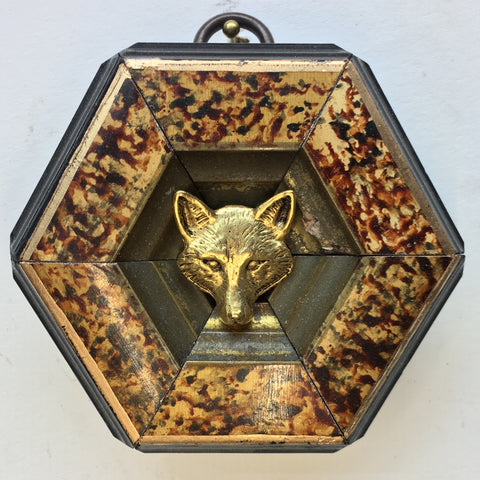 Painted Frame with Fox (3