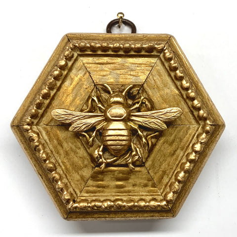 Gilt Frame with Italian Bee (3.75