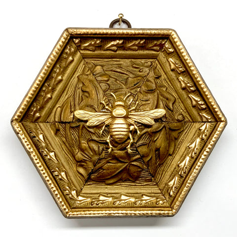 Gilt Frame with Italian Bee (5.25