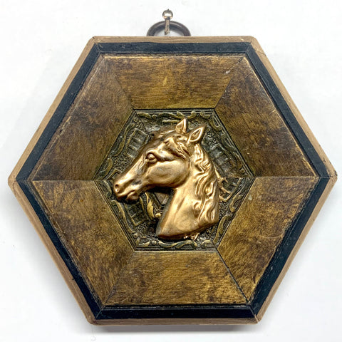Painted Frame with Horse (4