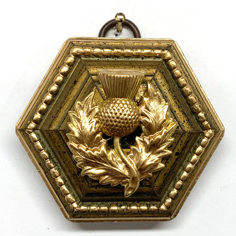 Gilt Frame with Thistle (2.75