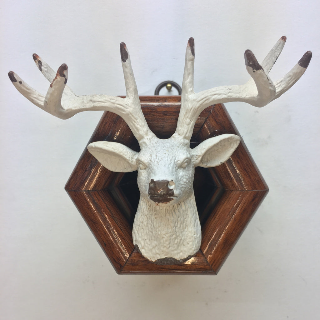 Wooden Frame with Stag Head (3.25